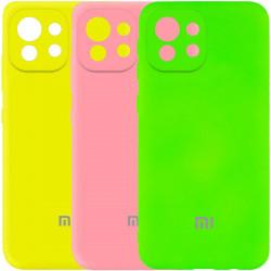 Уценка Чехол Silicone Cover My Color Full Camera (A) для Xiaomi Mi 11 Lite
