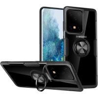 TPU+PC чехол Deen CrystalRing под магнитный держатель для Samsung Galaxy S20 Ultra