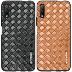 Кожаная накладка VORSON Braided leather series для Huawei Honor 9X (China)