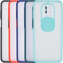 Чехол Camshield mate TPU со шторкой для камеры для Xiaomi Redmi Note 9s / Note 9 Pro /Note 9 Pro Max
