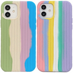 "Уценка Чехол Silicone case Full Braided для Apple iPhone 11 (6.1"")"
