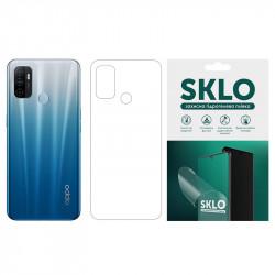 Защитная гидрогелевая пленка SKLO (тыл) для Oppo Reno 3