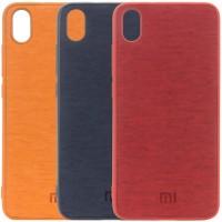 TPU чехол Textile Logo для Xiaomi Redmi 7A