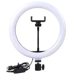 Кольцевая лампа M-15 25см с держателем, без подставки