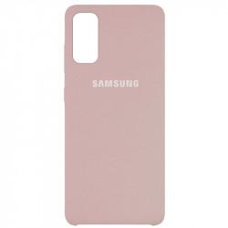 Уценка Чехол Silicone Cover (AAA) для Samsung Galaxy S20