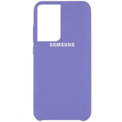 Уценка Чехол Silicone Cover (AAA) для Samsung Galaxy S21 Ultra