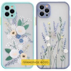 TPU+PC чехол Picture Color Buttons full camera для Samsung Galaxy A12