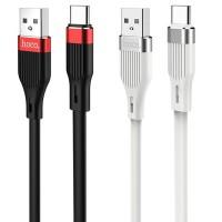 """Дата кабель Hoco U72 """"Forest Silicone"""" Type-C (1.2М)"""