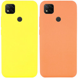 Уценка Чехол Silicone Cover Full without Logo (A) для Xiaomi Redmi 9C