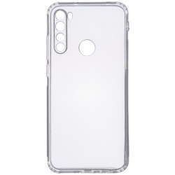 TPU чехол GETMAN Transparent 1,0 mm для Samsung Galaxy A21