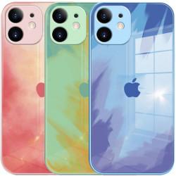 "TPU+Glass чехол Aquarelle Full Camera для Apple iPhone 12 (6.1"")"