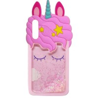 Силиконовый чехол Unicorn 3D для Samsung Galaxy A70 (A705F)