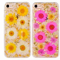 "TPU чехол ""Flowers and tinsel "" для Apple iPhone 7 / 8 (4.7"")"