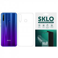 Защитная гидрогелевая пленка SKLO (тыл) для Huawei Y7 Prime (2018) / Honor 7C pro
