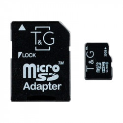 Карта памяти T&G microSDHC 32GB class 10 (с адаптером)
