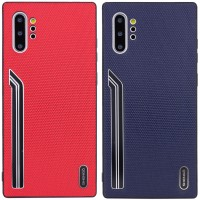 TPU чехол SHENGO Textile series для Samsung Galaxy Note 10 Plus