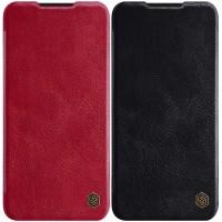 Кожаный чехол (книжка) Nillkin Qin Series для Xiaomi Mi A3 (CC9e)