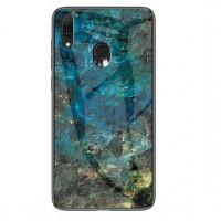 TPU+Glass чехол Luxury Marble для Samsung Galaxy A20 / A30