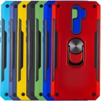 Ударопрочный чехол SG Ring Color магнитный держатель для Xiaomi Redmi Note 8 Pro