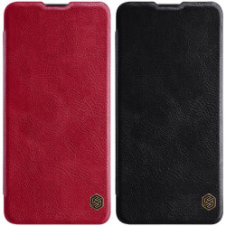 Кожаный чехол (книжка) Nillkin Qin Series для Samsung Galaxy M30s / M21