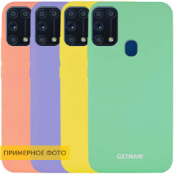 Чехол Silicone Cover GETMAN for Magnet для Samsung Galaxy M31
