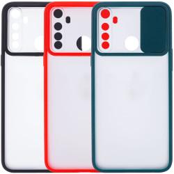 Чехол Camshield mate TPU со шторкой для камеры для Xiaomi Redmi Note 8T