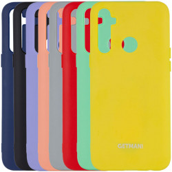 Чехол Silicone Cover GETMAN for Magnet для Realme C3