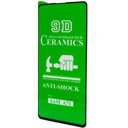 Защитная пленка Ceramics 9D (без упак.) для Samsung Galaxy A71 / Note 10 Lite / S10 Lite / M51