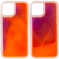 "Уценка Неоновый чехол Neon Sand glow in the dark для Apple iPhone 12 Pro / 12 (6.1"")"