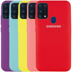 Чехол Silicone Cover Full Protective (AA) для Samsung Galaxy A11