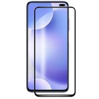 Защитное стекло 3D 9H (full glue) (тех.пак) для Xiaomi Redmi K30/Poco X3 NFC/Poco X3/10T/10T Pro