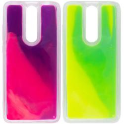 Неоновый чехол Neon Sand glow in the dark для Xiaomi Redmi 8