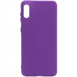 Уценка Чехол Silicone Cover Full without Logo (A) для Samsung Galaxy A02