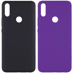 Чехол Silicone Cover Full without Logo (A) для Huawei P Smart Z