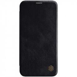 "Уценка Кожаный чехол (книжка) Nillkin Qin Series для Apple iPhone 12 mini (5.4"")"