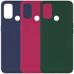 Чехол Silicone Cover Full without Logo (A) для Oppo A53 / A32 / A33