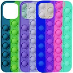 """Силиконовый 3D чехол-антистресс Pop it Bubble для Apple iPhone 11 (6.1"""")"""