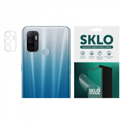 Защитная гидрогелевая пленка SKLO (на камеру) 4шт. для Oppo Reno 4