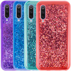 TPU+PC чехол Sparkle (glitter) для Xiaomi Mi 9