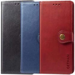 Кожаный чехол книжка GETMAN Gallant (PU) для TECNO Camon 16 SE