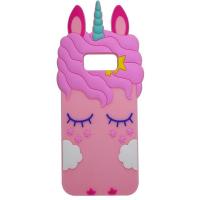 Силиконовая накладка 3D Little Unicorn для Samsung G955 Galaxy S8 Plus