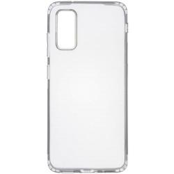 TPU чехол GETMAN Transparent 1,0 mm для Samsung Galaxy S20