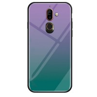 TPU+Glass чехол Gradient series для Nokia 7 plus