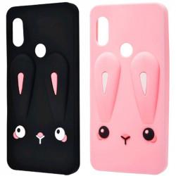 Силиконовая накладка 3D Child Bunny для Xiaomi Redmi Note 7 / Note 7 Pro / Note 7s