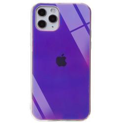 "Уценка TPU+Glass чехол Gradient Rainbow с лого для Apple iPhone 11 Pro (5.8"")"