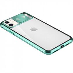 "Уценка Чехол Camshield 360 Metall+Glass со шторкой для камеры для Apple iPhone 11 (6.1"")"
