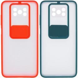 Чехол Camshield mate TPU со шторкой для камеры для Xiaomi Poco X3 NFC / Poco X3 Pro