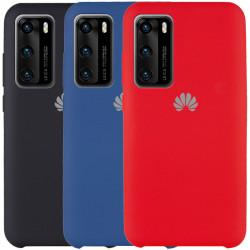 Чехол Silicone Cover (AAA) для Huawei P40