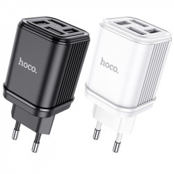СЗУ HOCO C84A Resolute four-port charger (EU)