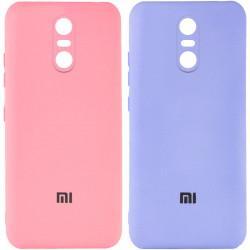 Чехол Silicone Cover My Color Full Camera (A) для Xiaomi Redmi Note 4X / Note 4 (Snapdragon)